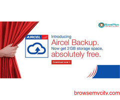 Aircel Coupons, Deals & Offers: Free 2 GB storage space with aircel backup