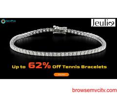 Up to 62% Off Tennis Bracelets