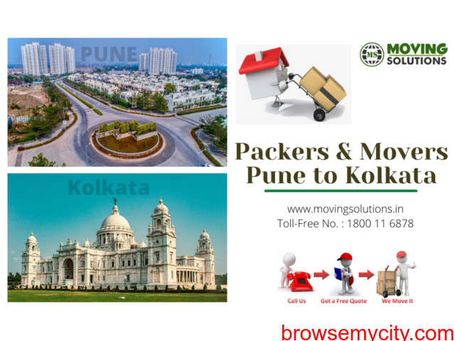 Packers and Movers from Pune to Kolkata - 1/1