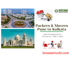 Packers and Movers from Pune to Kolkata