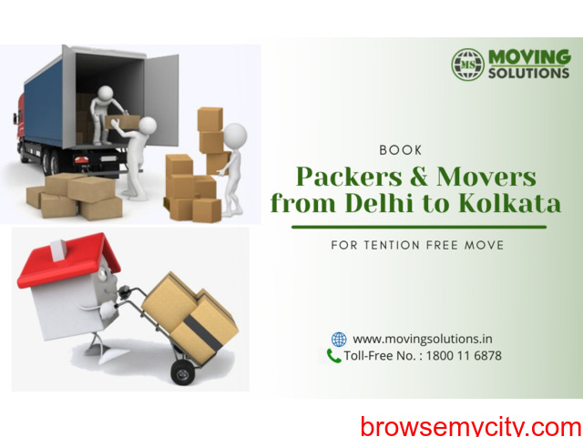Packers and Movers from Delhi to Kolkata - 1/1