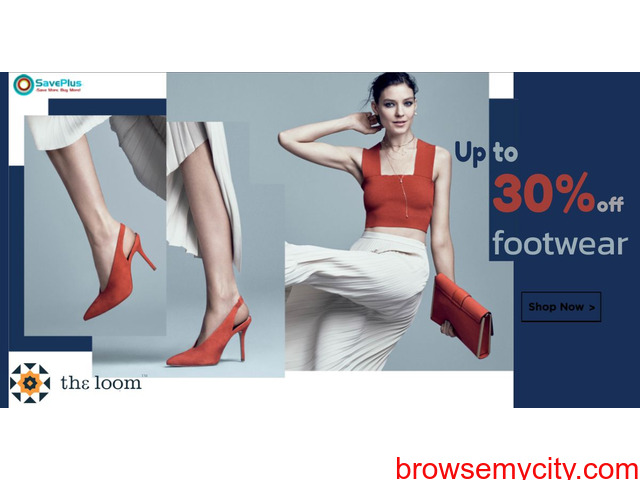 Up to 30% off footwear - 1/1