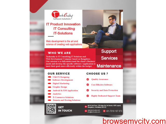 We Provide Best Software,Solutions and Services. - 1/4