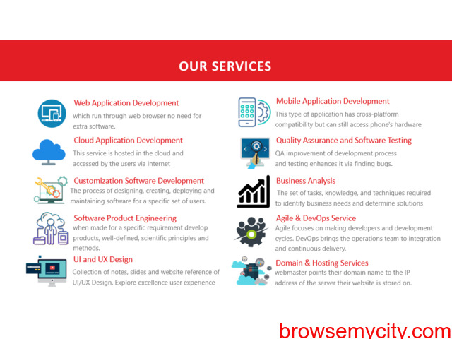 We Provide Best Software,Solutions and Services. - 4/4
