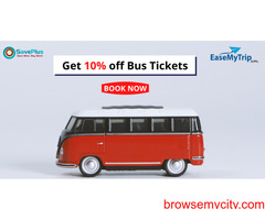 EaseMyTrip Coupons, Deals & Offers: Get 10% off Bus Tickets