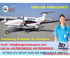 Advanced Level Air Ambulance in Delhi Easily Available by King Ambulance