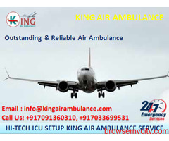 Choose the Best and Top Air Ambulance in Guwahati by King Ambulance