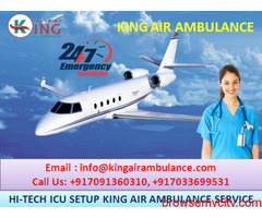 Book Advanced & Reliable Air Ambulance in Ranchi –King Ambulance