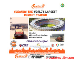 CLEANING SPORTS STADIUMS? A MASSIVE TASK....