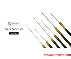 Aari Needles Types | Buy Aari Needle for Embroidery Online