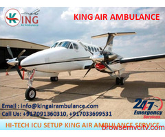 Take Immediate & Safe Air Ambulance in Mumbai by King Ambulance