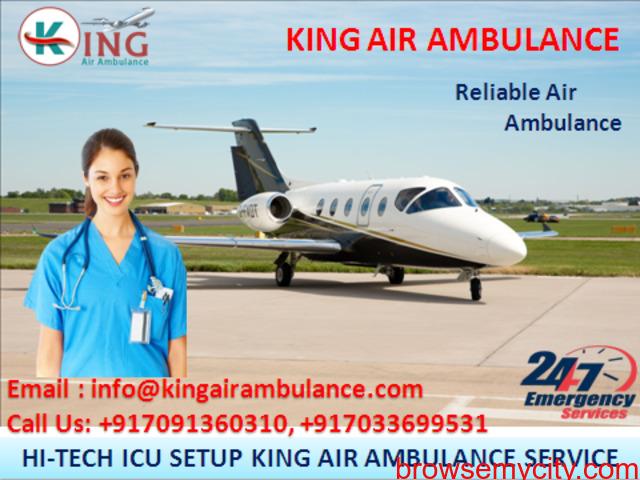 Choose Outstanding ICU Air Ambulance in Bangalore - King Air Ambulance - 1/1