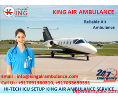 Choose Outstanding ICU Air Ambulance in Bangalore - King Air Ambulance