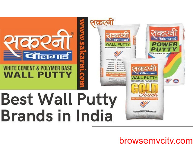 Best Wall Putty Brands in India - 1/1