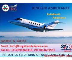 King ICU Air Ambulance in Delhi is the Best for Quick Patients Shifting