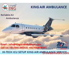 Top & Best Advanced Air Ambulance in Guwahati by King Air Ambulance