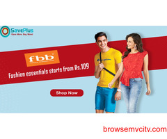 Fashion essentials starts from Rs.109