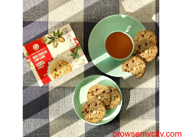 High protein snacks   Protein cookies - 1/1