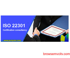 ISO 22301 Certification Consultancy for Business Continuity Management System