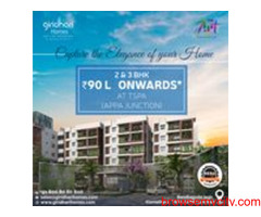 Giridhari Homes 2&3BHK Flats in kismatpur | Giridhari Homes