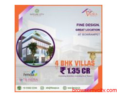 Villas for Sale in Bowrampet | Vajradevelopers