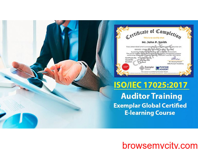 ISO/IEC 17025:2017 Certified Auditor Training - 1/1