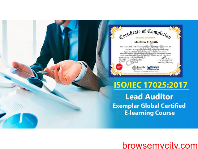 ISO/IEC 17025:2017 Certified Lead Auditor Training - 1/1