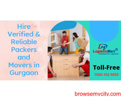 Hire Verified & Reliable Packers and Movers in Gurgaon