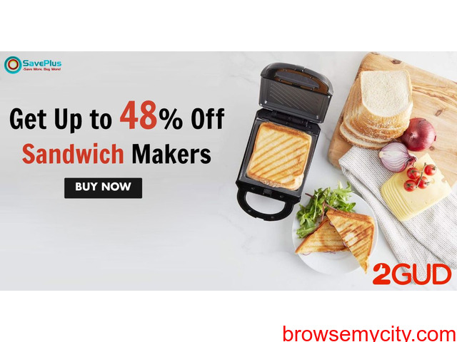 2gud Get Up to 48 Off Sandwich Makers - 1/1