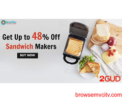 2gud Get Up to 48 Off Sandwich Makers