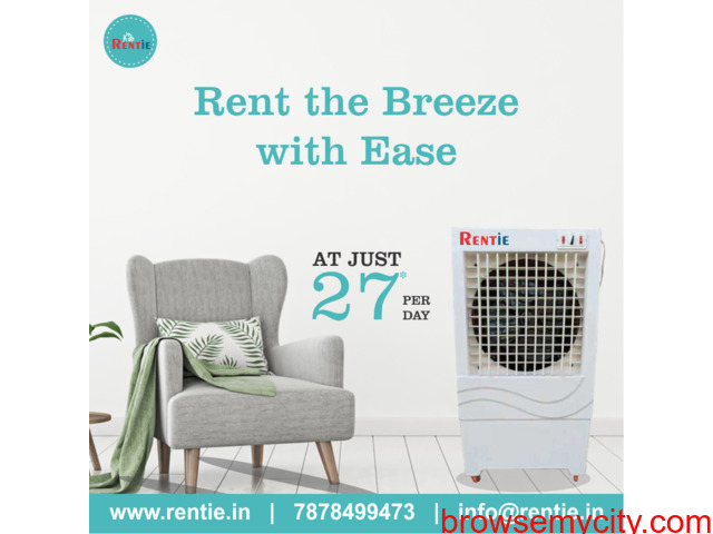 Find the Best Air Cooler for Rent in Udaipur at ₹27 Per Day at Rentie - 1/1
