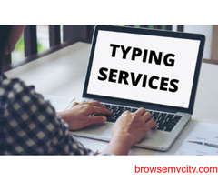 Vanan Services Provide Best Typing Services