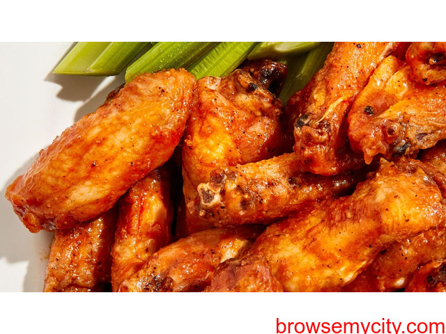 Baked Chicken Wings That Are Actually Crispy? Just Add Baking Soda - 1/1