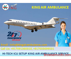 Choose Air Ambulance Services in Patna for Quick Patient Transfer by King