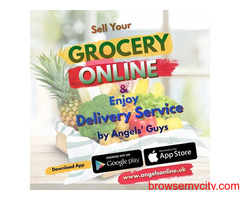Grocery Home Delivery Services by Angels The Rider App