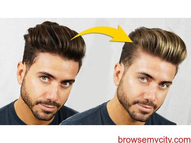 Hair highlights for men - 1/1