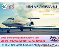 Super & Safe Emergency Air ambulance in Varanasi by King Ambulance