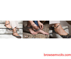 New Design Silver Anklets Online at Best Price