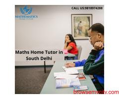 Maths Home Tutor in South Delhi