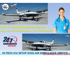 King Emergency Air Ambulance Services in Chennai Available at 24 Hrs