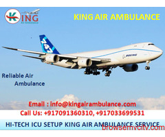 Choose Superior Air Ambulance Services in Kolkata by King Ambulance
