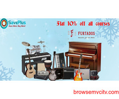 Flat 10% off all courses