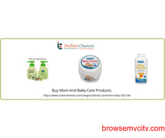 Buy Mom And Baby Care Products | Medicine Online