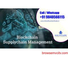 Blockchain Supply Chain Management -MLM software Tamilnadu