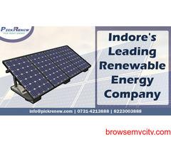 Indore's leading renewable energy company | Pickrenew