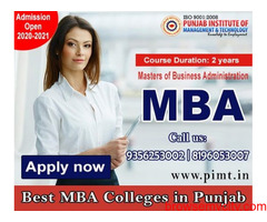 MBA Course in Punjab