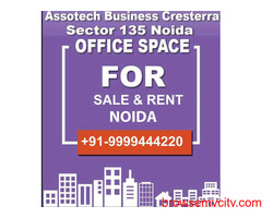 Assotech Business Cresterra Office Sale, ABC Office Space for Rent