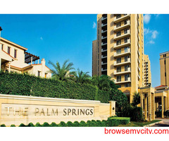 3 BHK Apartments For Rent in Gurgaon | Emaar The Palm Springs on Golf Course Road
