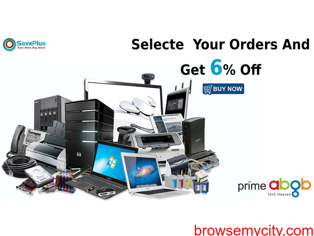 primeabgb coupons: 6% off Selected Orders - 1/1