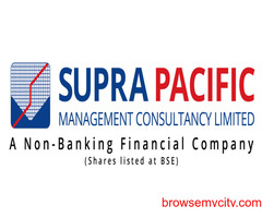 Supra Pacific - Non-Banking Financial Company  Shares listed at BSE